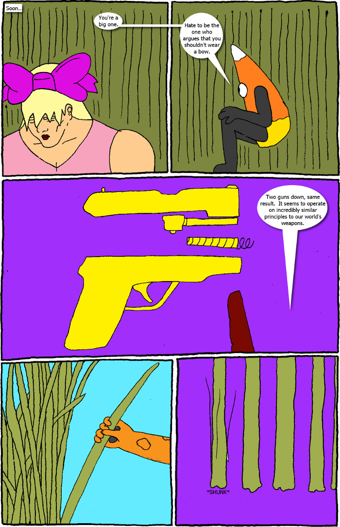 Page 13: issue 5 - Crossover Melee Part 5: War, Sweet War