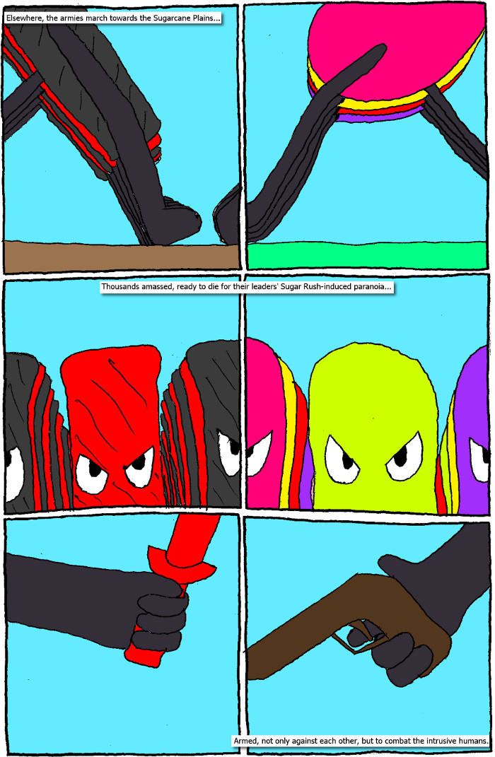 Page 27: issue 5 - Crossover Melee Part 5: War, Sweet War