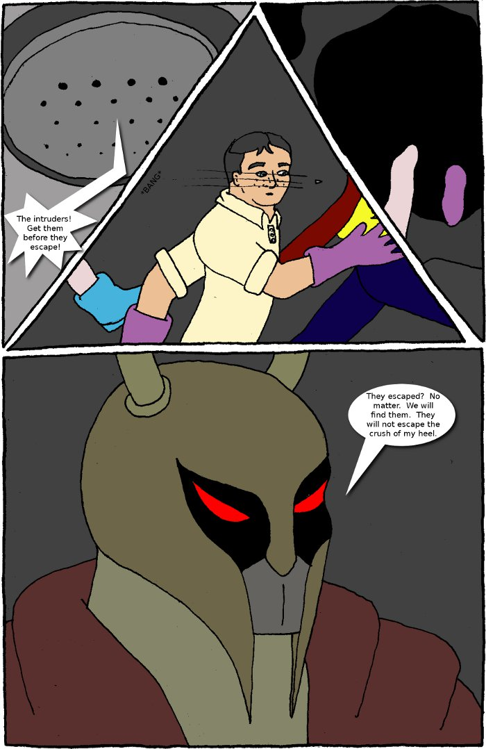 Page 20: issue 4 - Crossover Melee Part 4: The Belly